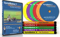 GymABstics Total Body Fitness Progam - 6 DVD Set