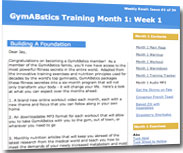 GymABstics Weekly Email Updates
