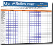 GymABstics Fitness Program Training Tracker